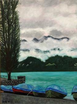 """Mysterious Clouds"" - Berne, Switzerland"
