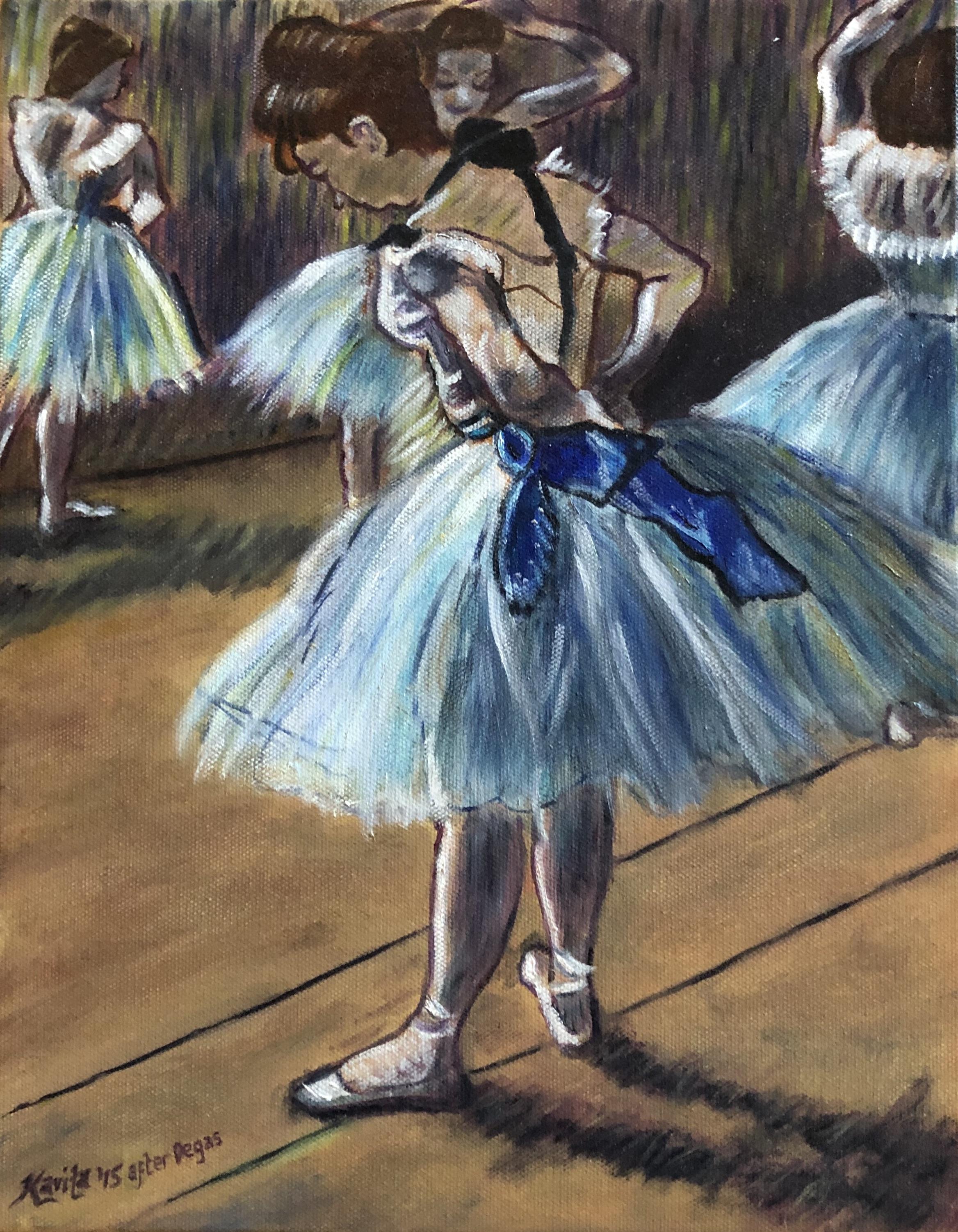 "Homage To Degas - ""Dancer"""