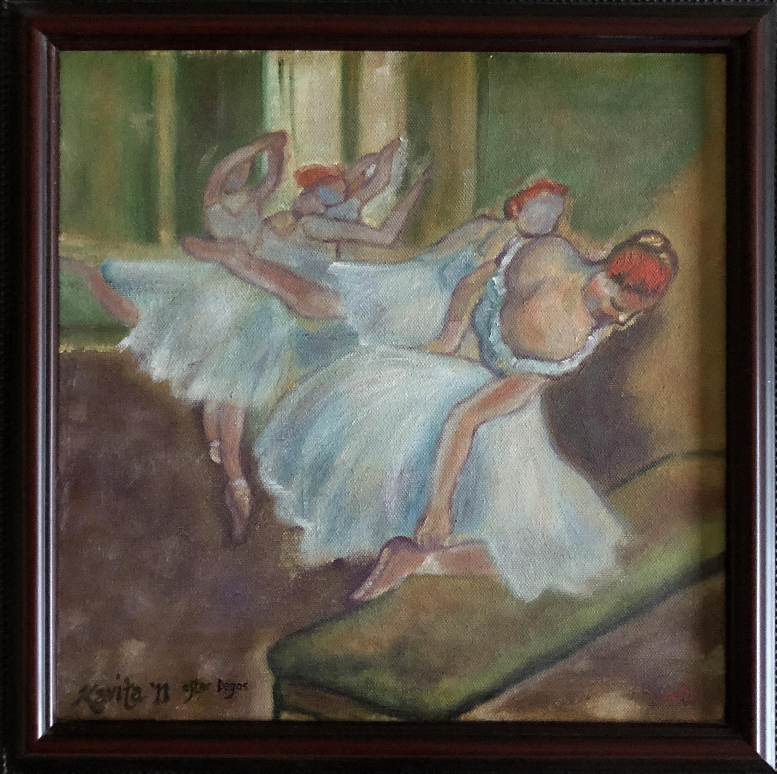 "Homage To Degas - ""Ballet Dancers"""