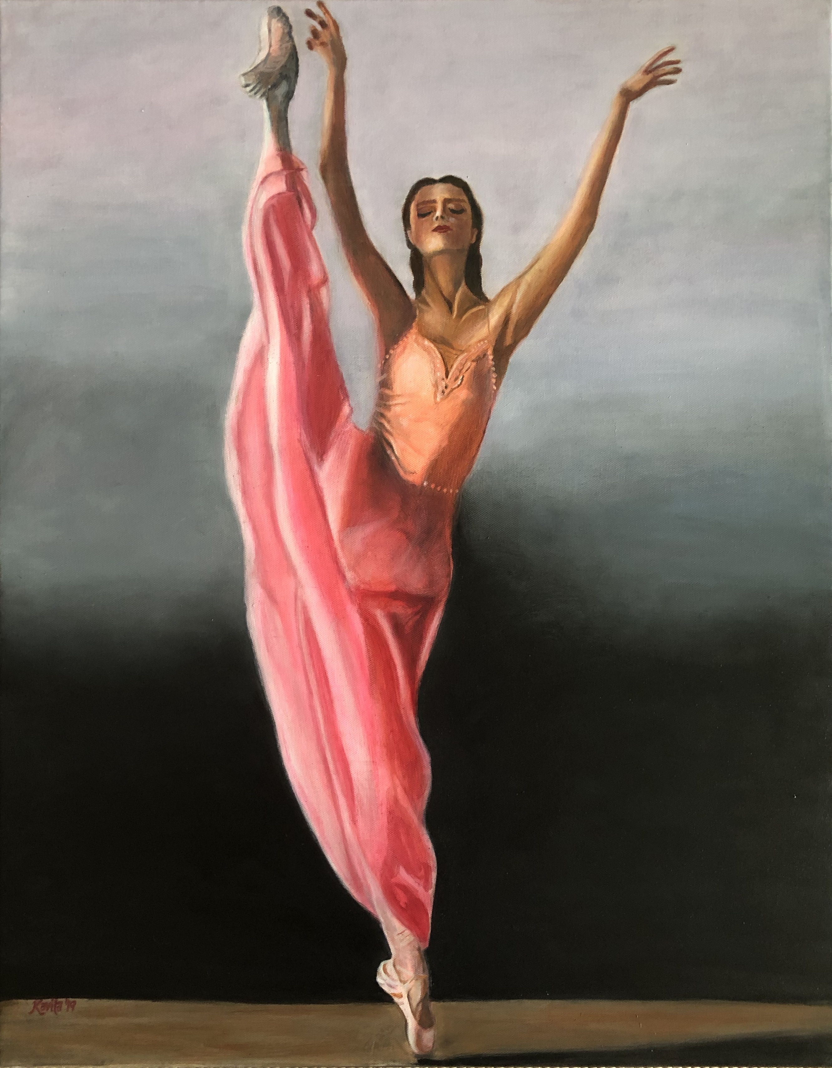 "'""Elegant Dancer"""