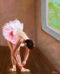 """""""Dancer Tying Shoe"""""""