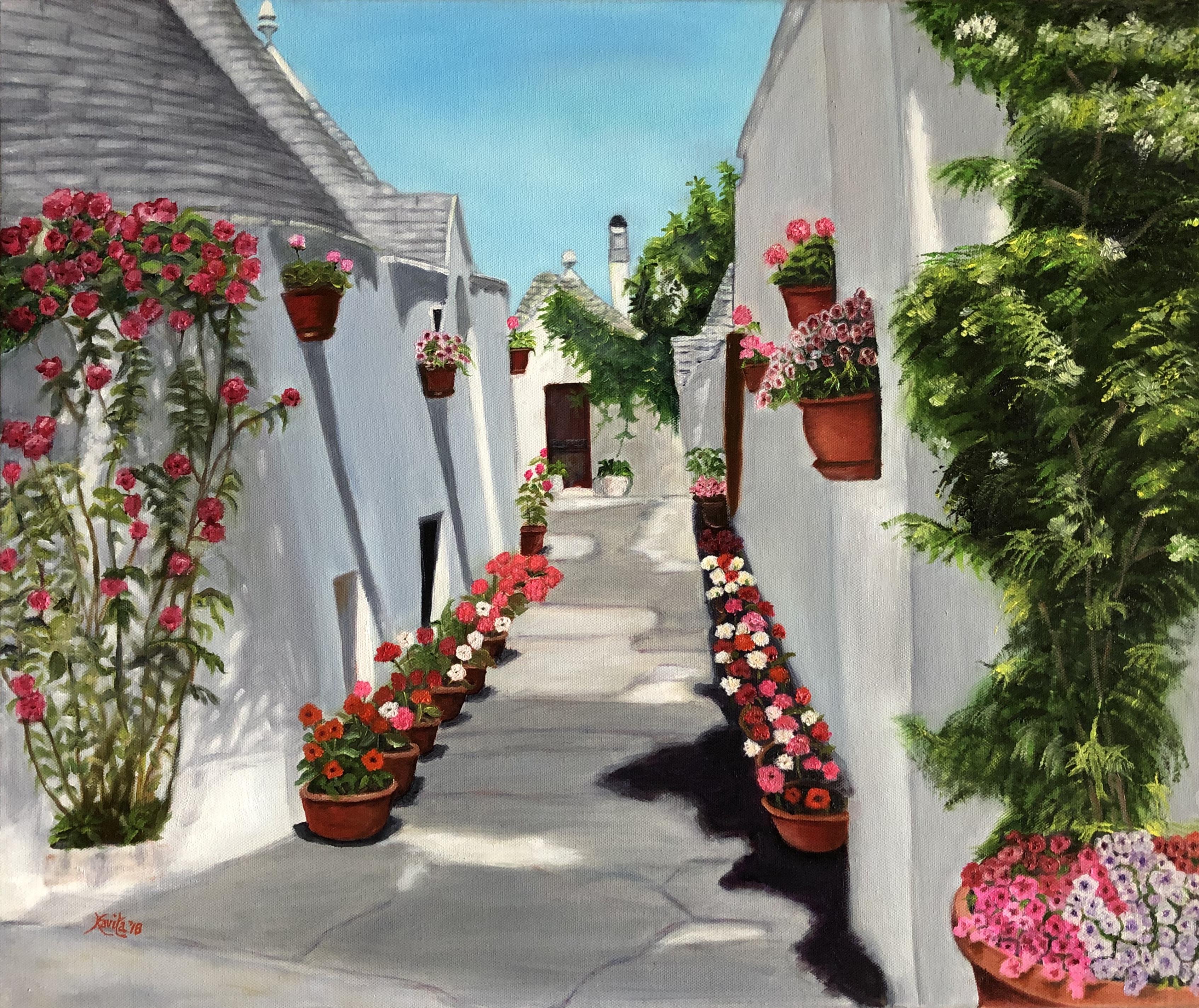 """Springtime in Alberobello"""