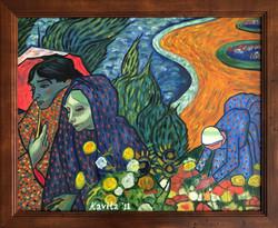 """Homage to Van Gogh - """"Ladies of Arles"""""""