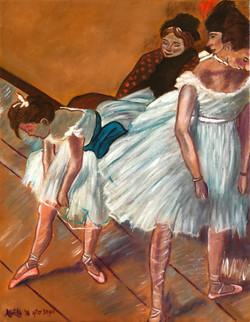 "Homage To Degas - ""The Dance Examination"""