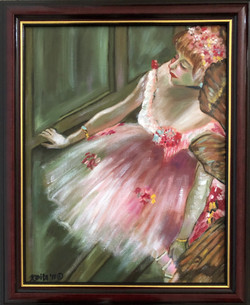 """Homage To Degas - """"Dancers in the Wings"""""""