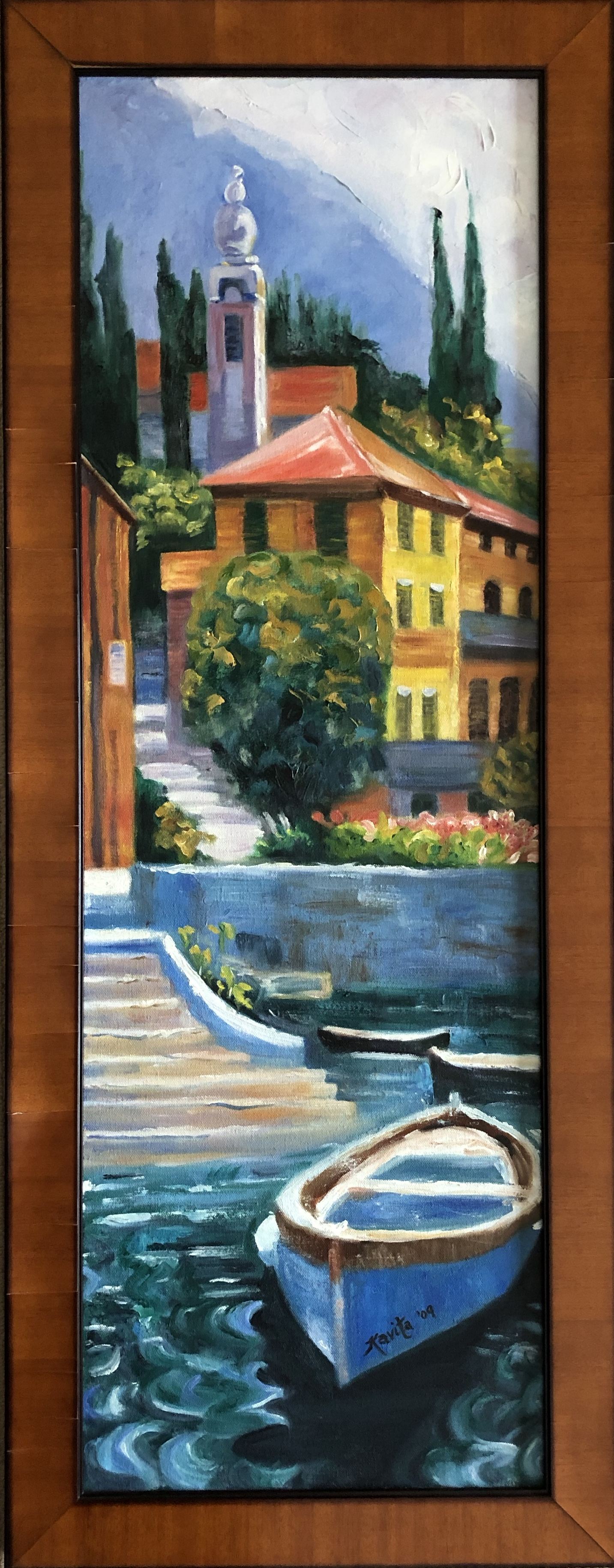 "Homage to Behrens - ""Lake Como"""