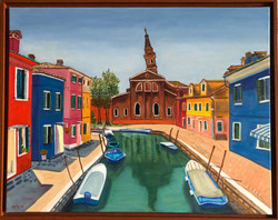 """""""The Dynamic Colors of Burano"""""""