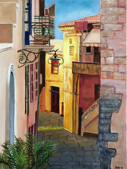 """""""The Colorful Streets of Crete"""""""