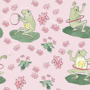 frogs n flowers pink 3.jpg
