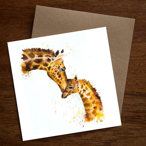 Giraffe Love pack of 10