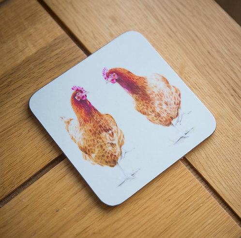 Chickens Coaster