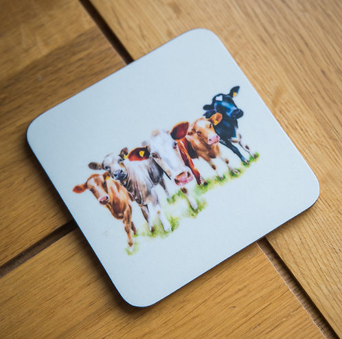 Have you Herd? Coaster - Pack of 10