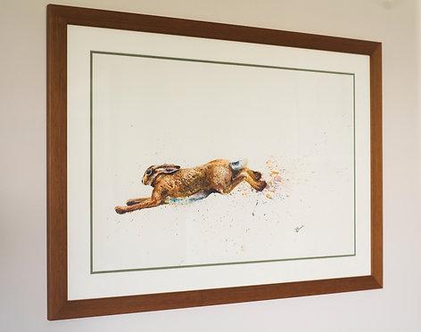 'Haring about' -Framed Original