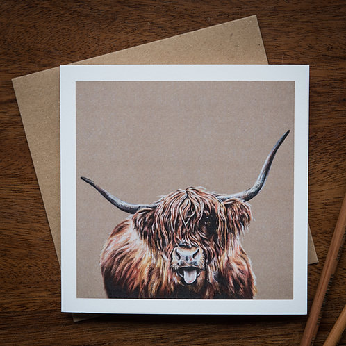 'Hamish' Greetings Card