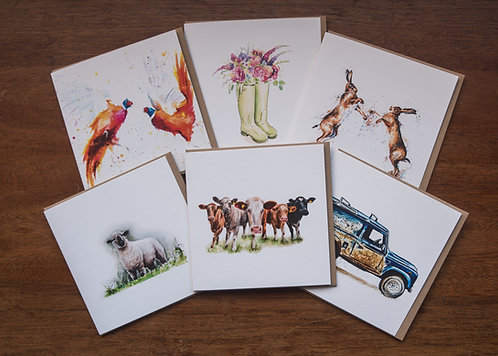 Rural Life Card Collection