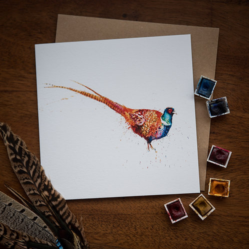 'Poppycock' Greetings Card - Pack of 10