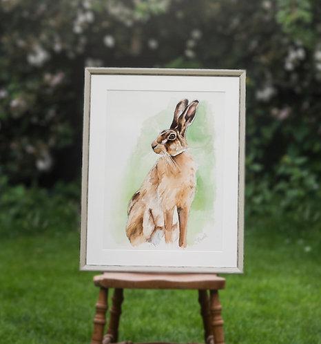 Hare Raiser - Framed Original