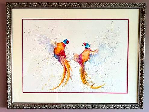 Fight and Flight - Original Painting