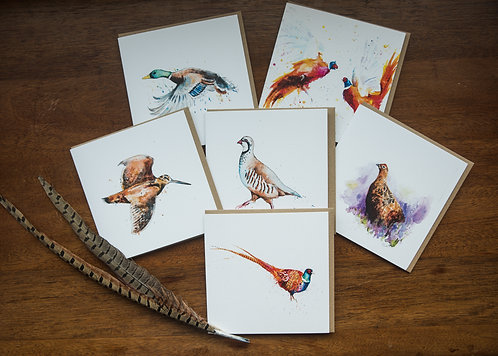 The Game Bird Card Collection