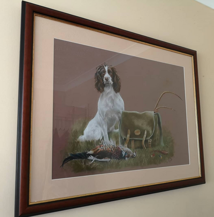 Spaniel with Game