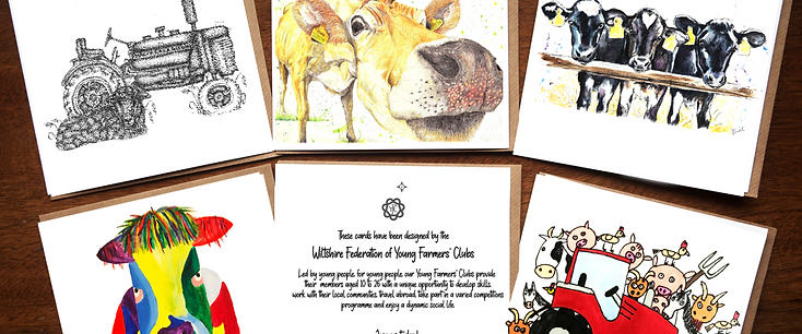 Wiltshire YFC Greetings Cards - 5 Pack