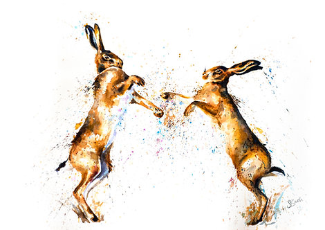 The Boxing Hares