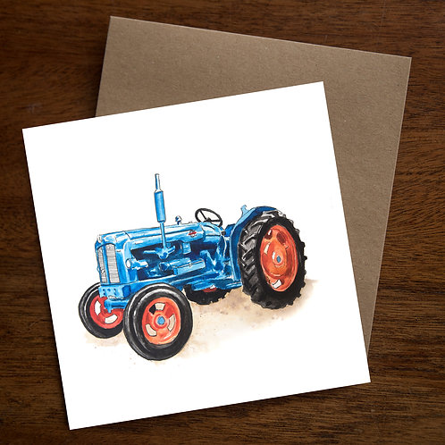 Ford Tractor Greetings Cards - Pack of 10