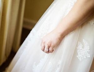 A bride at Mitchell Plantation
