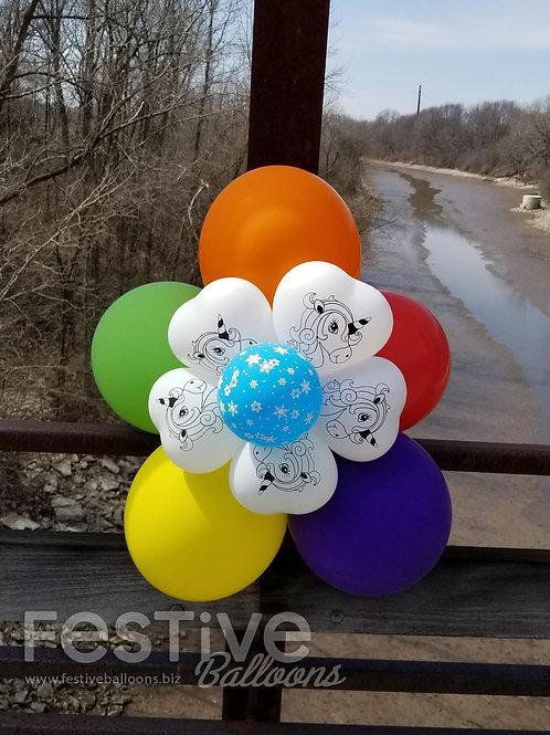 Rainbow Unicorn Bubble of Joy