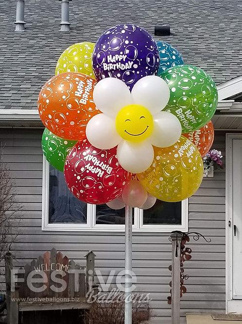 Birthday Bubble of Joy - with post