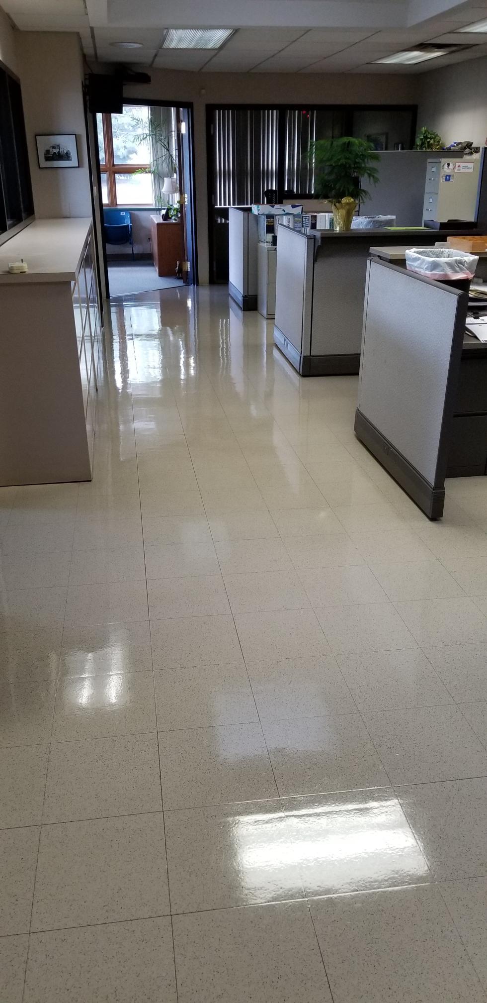 Floor Strip & Wax in Novi Michigan