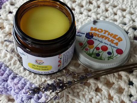 New Herbal Salve - Made with Wildwood's Lavender