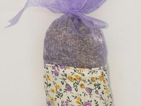 Lavender Sachet - Item Show Case