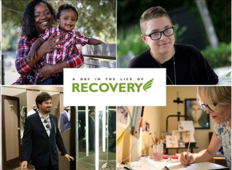 Don't Tell People What You Do, Show Them: Momentum for Mental Health's Day in the Life of Recovery E