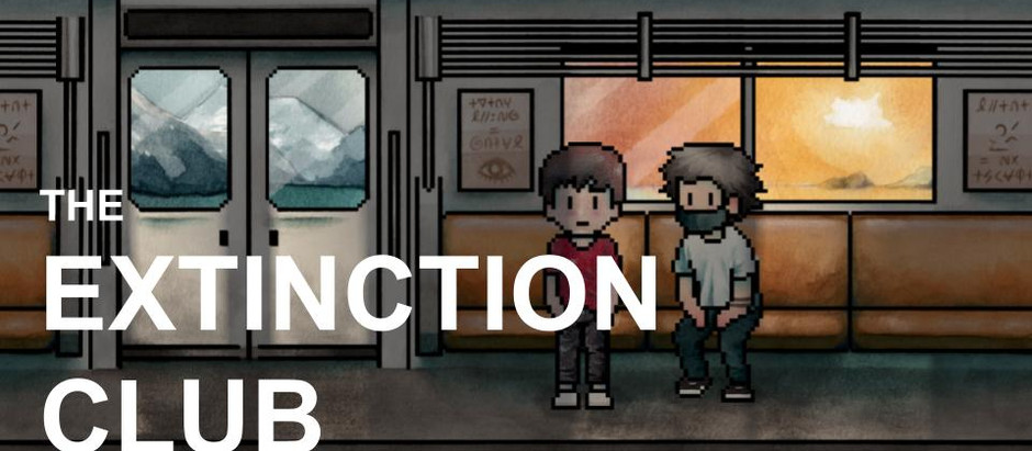 Welcome: website launch, Extinction Club and more...