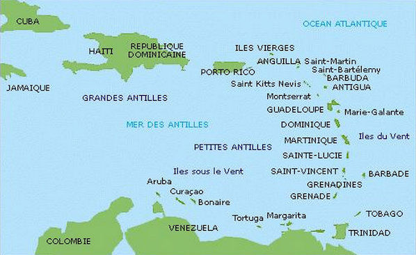 Leeward and Windward Islands