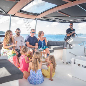 Catamaran Seahome Scuba Diving Charters in the Virgin Islands
