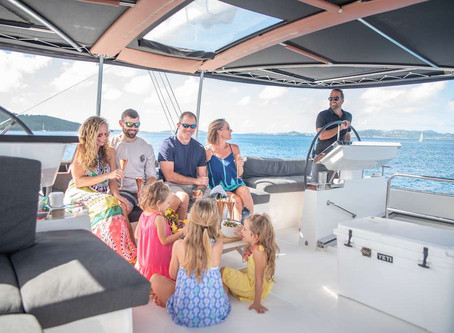 Catamaran Seahome Scuba Diving Charters in the Virgin Islands