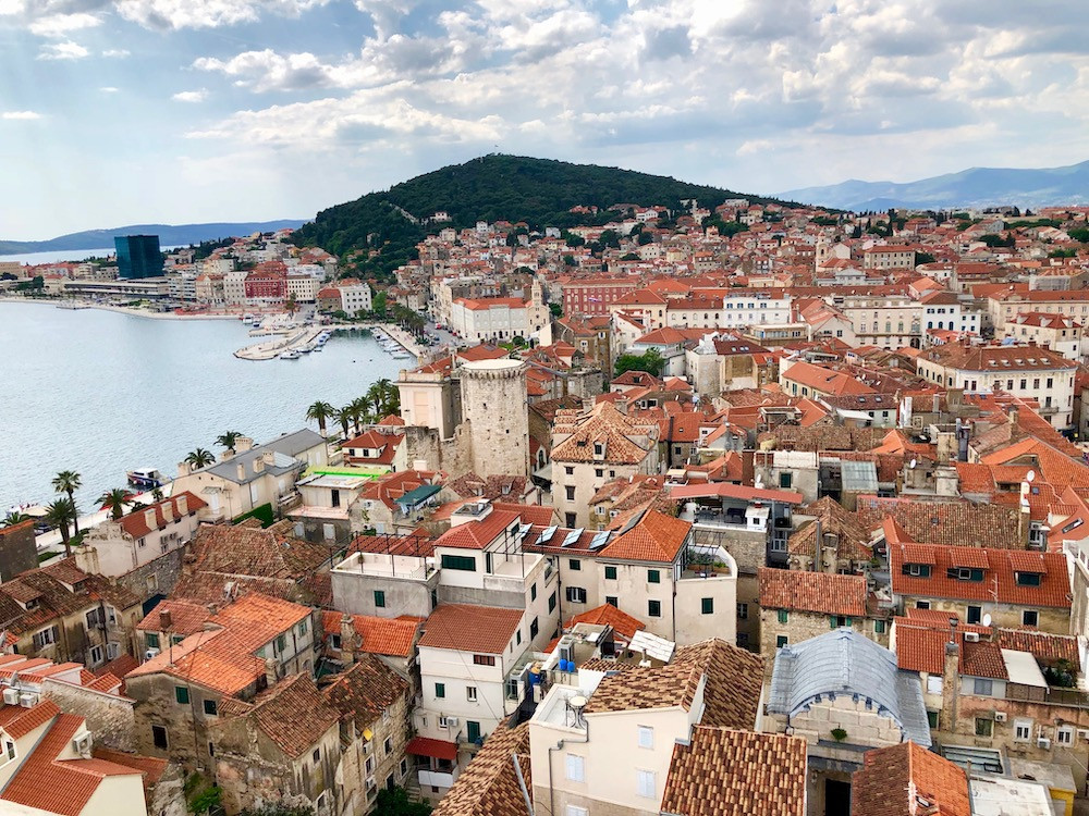 Explore Split, Croatia on a crewed yacht charter booked by Yacht Charters Guru