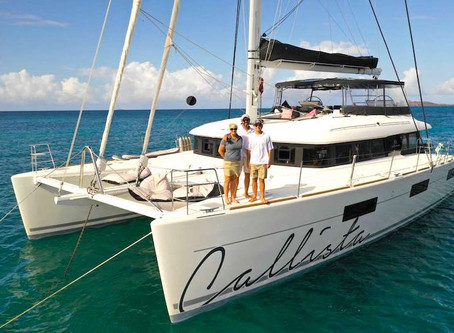 St. Lucia to Grenada Yacht Charter Vacation Itinerary