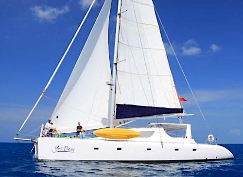 Catamaran Yes Dear Yacht Charter Vacations