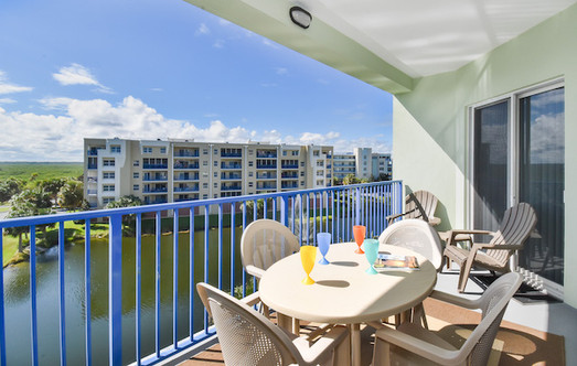 Ocean Walk Condo Patio
