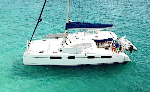 Catamaran DeepBlue Yacht Charter Vacations