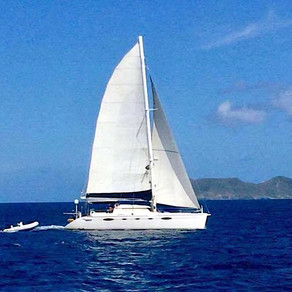 A Virgin Islands Wedding on the Beach by Crewed Yacht Charter Catamaran VIVO