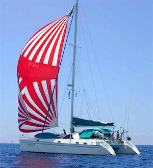 Catamaran Pentesilea Charter