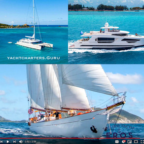 From Old-School Cool to Superfly, We're Ready to Visit the Charter Yachts & Interview the Crews!