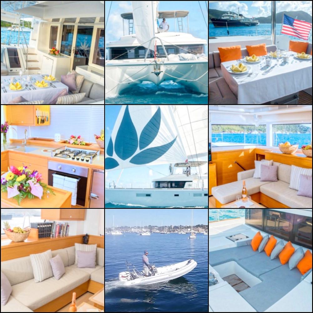 Catamaran Lotus Crewed Yacht Charters