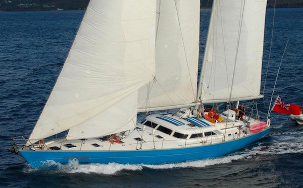 Crewed Yacht Charter Vacations on Taboo Sail Boat