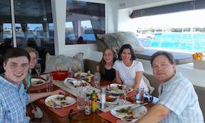 Catamaran Moun Beu Charter Guest Comments