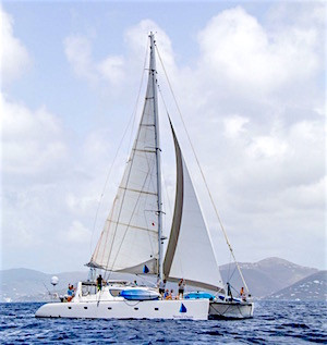 Catamaran Secret Oasis Sailing Vacation Charter